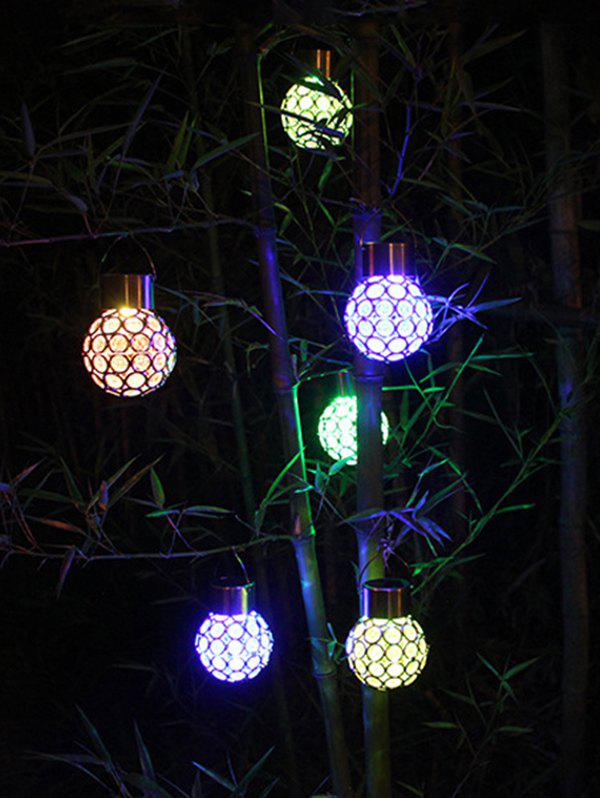 Fashion Outdoor Decoration Waterproof Colorful Hanging Solar LED Night Light