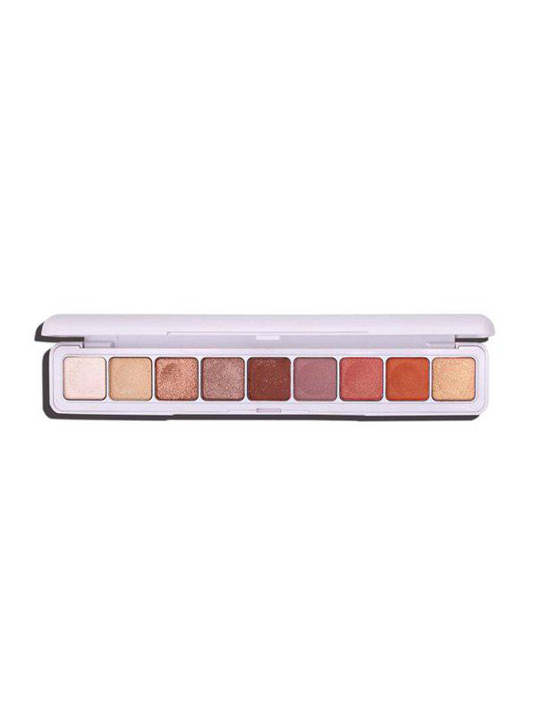 Discount Glitter Foggy 9-colors Eye Shadow Compact