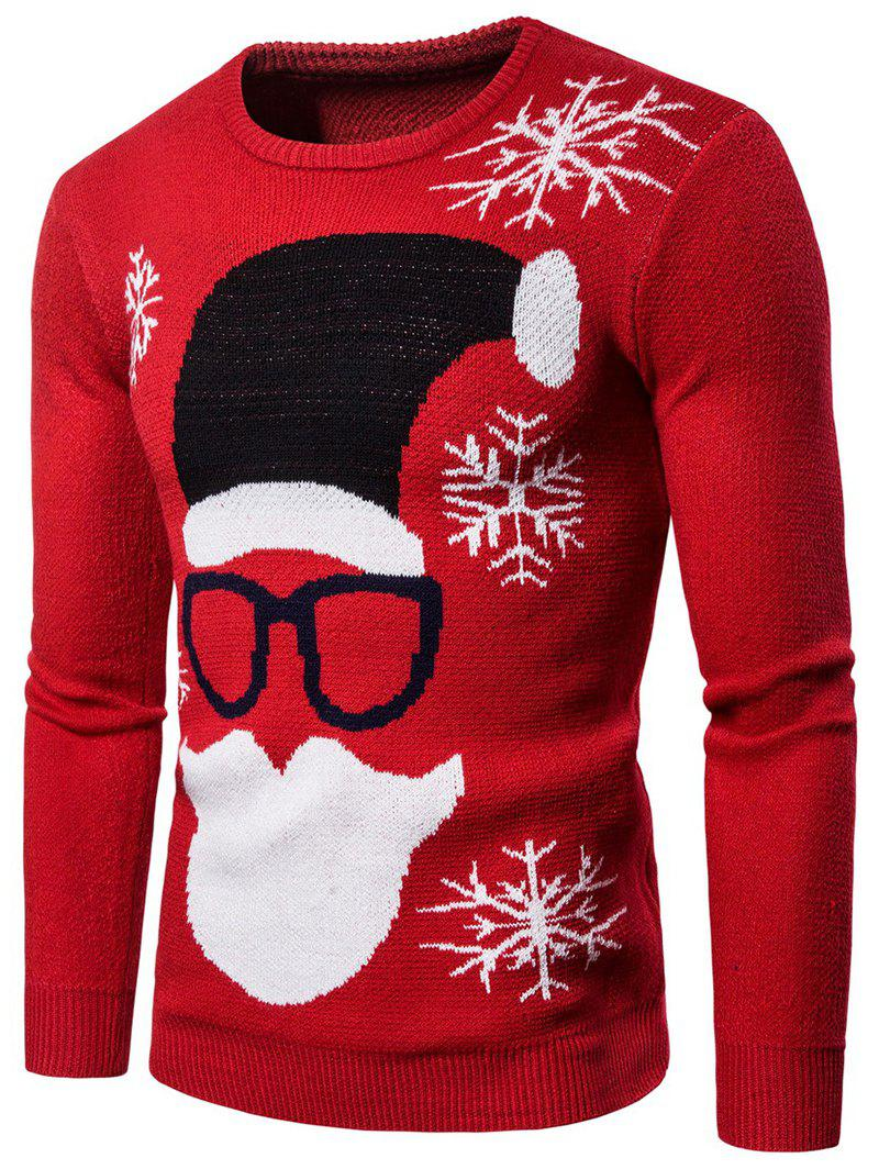 Store Christmas Santa Claus Pattern Sweater