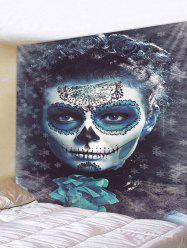 Halloween Zombie Print Tapestry Wall Hanging Art Decoration -