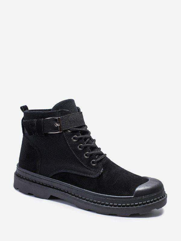 Buy Buckle Strap Cargo Ankle Boots