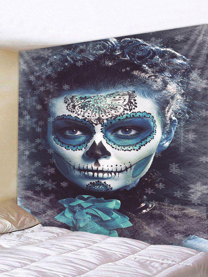 Outfit Halloween Zombie Print Tapestry Wall Hanging Art Decoration