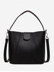 Solid Simple Casual Tote Bag -