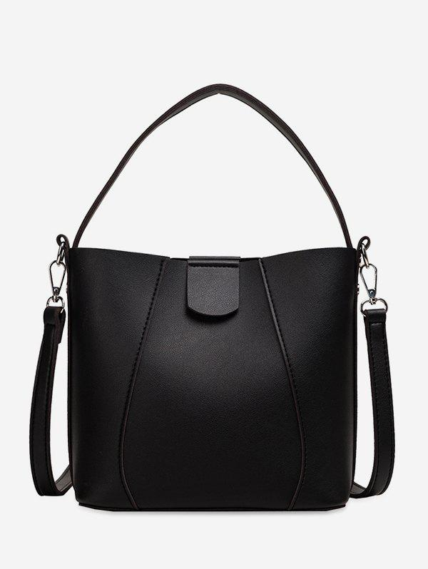 Trendy Solid Simple Casual Tote Bag