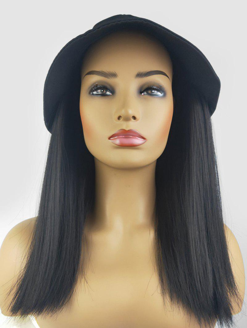 Outfits Wavy Synthetic Shoulder Length Bucket Cap Wig