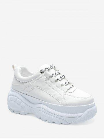 Casual Lace Up Platform Dad Sneakers