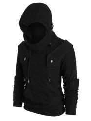 Front Pocket Knight Soldier Hoodie -