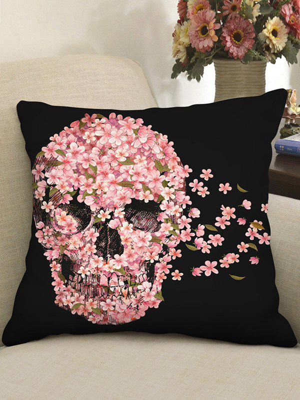 Outfit Halloween Sugar Skull Pattern Decorative Pillowcase
