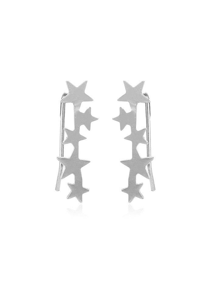 Cheap Simple Stars Metal Earrings