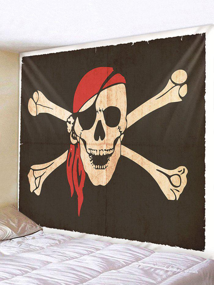 Cheap Halloween Pirate Skull Printing Wall Tapestry