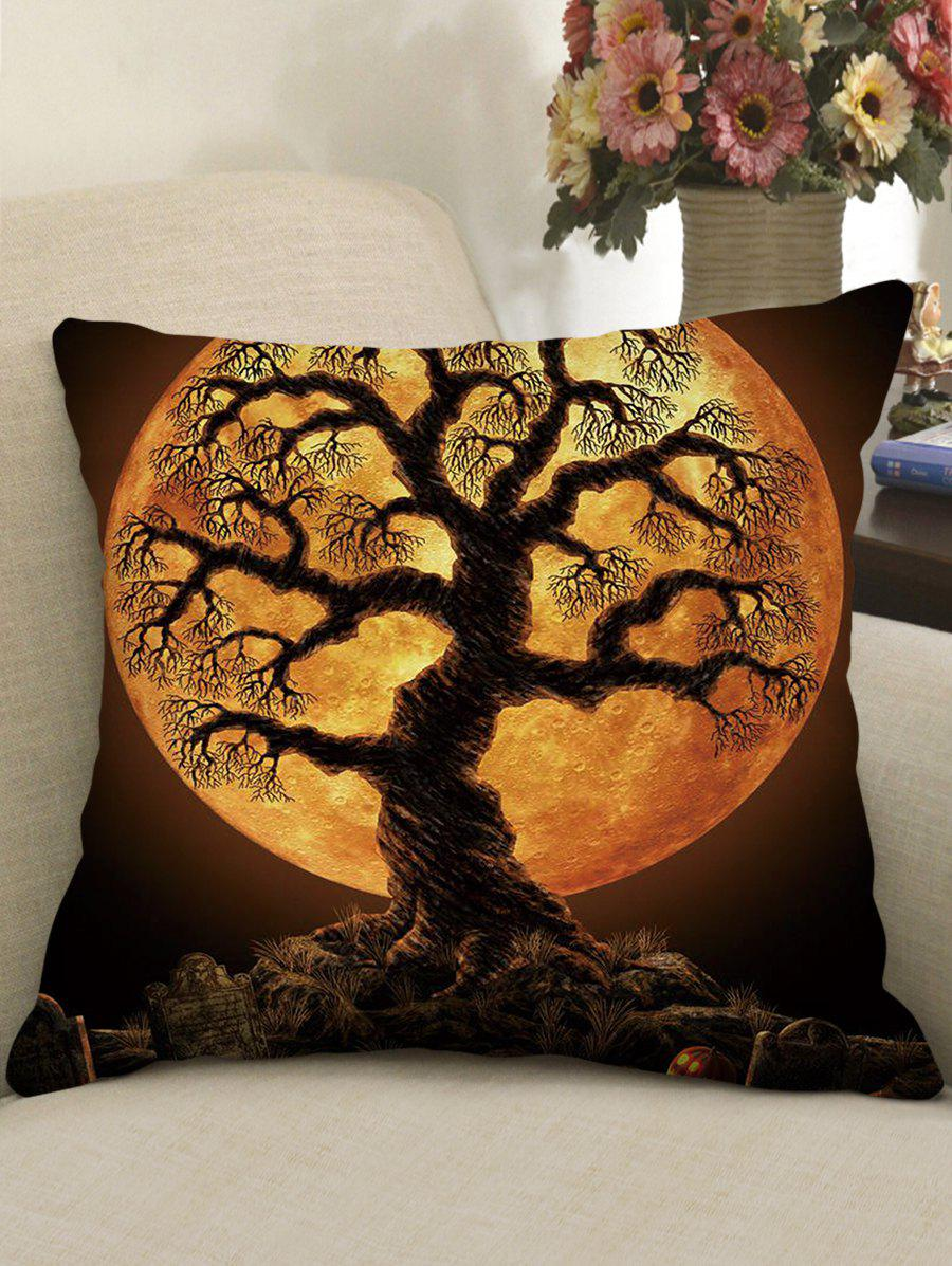 Online Halloween Print Gothic Style Decorative Pillow