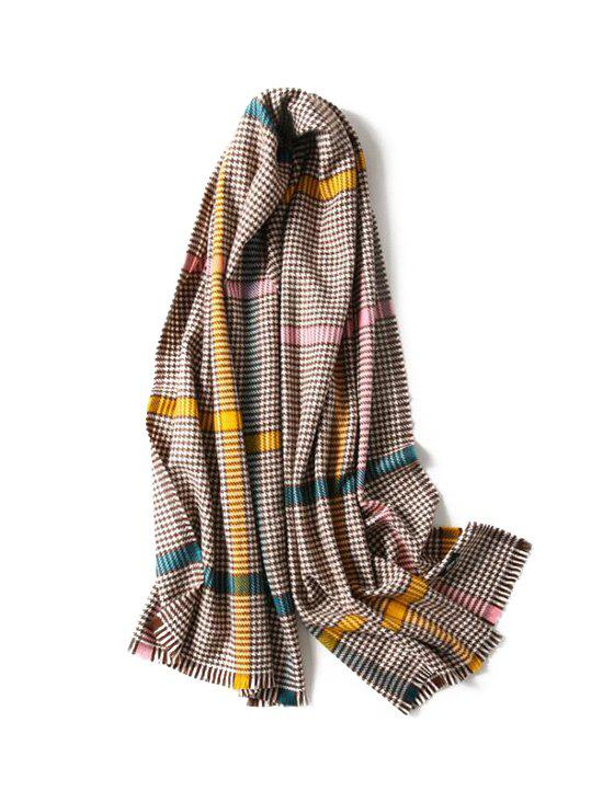 Online Chic Houndstooth Pattern Scarf
