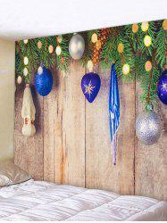 Christmas New Year Wooden Board Decoration Tapestry -
