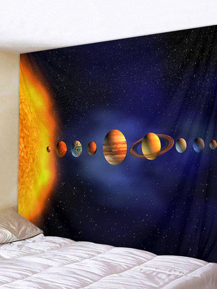 Discount Solar System Planets 3D Digital Printing Wall Tapestry