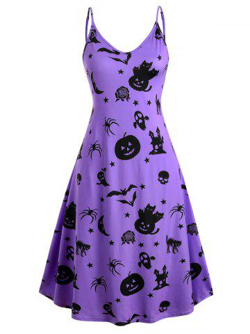Halloween | Dress | Print | Plus | Size