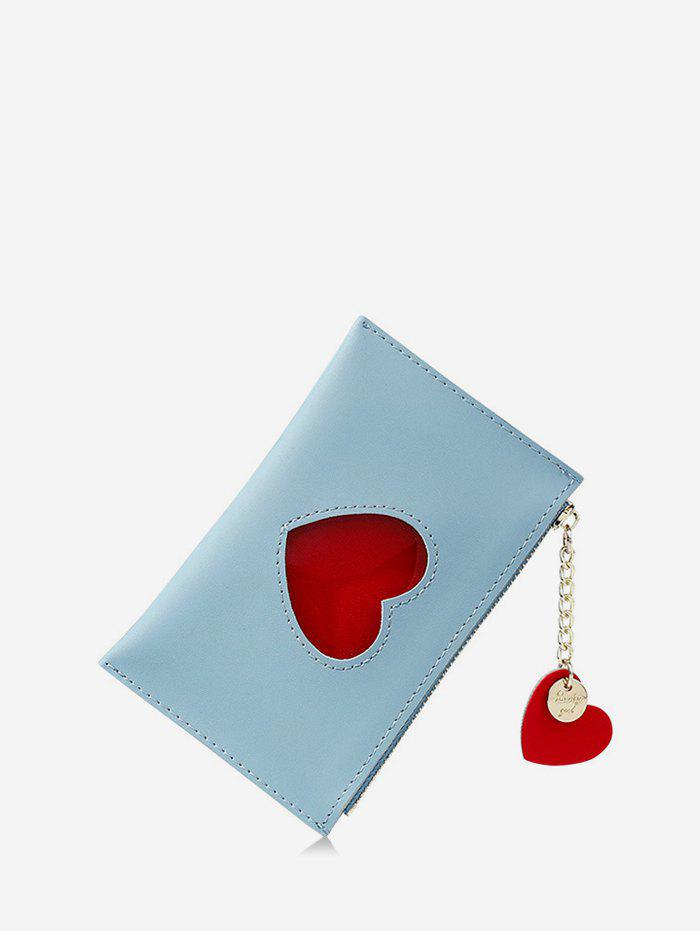Buy Pendant Heart Pattern Card Coin Purse