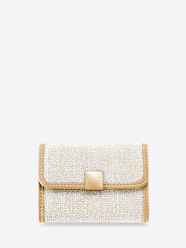 Buy Glitter Mini Square Jointed Student Card Bag