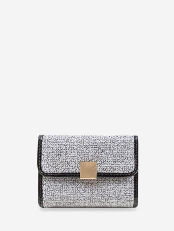 Chic Glitter Mini Square Jointed Student Card Bag