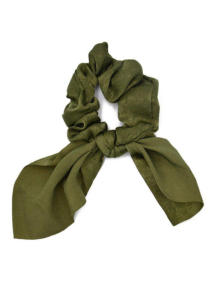 New Solid Color Chiffon Scrunchie
