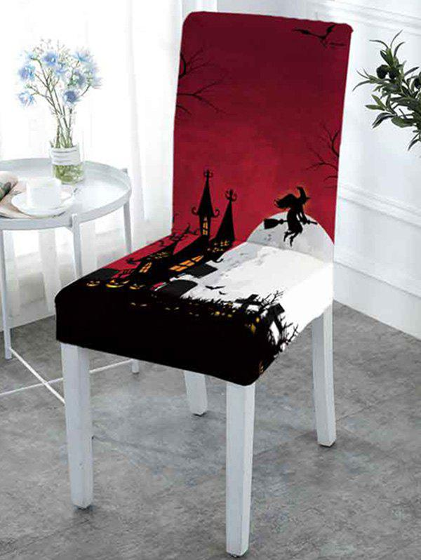 Outstanding Halloween Pattern Elastic Chair Covers Caraccident5 Cool Chair Designs And Ideas Caraccident5Info