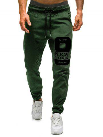 Number Eight Graphic Casual Jogger Pants