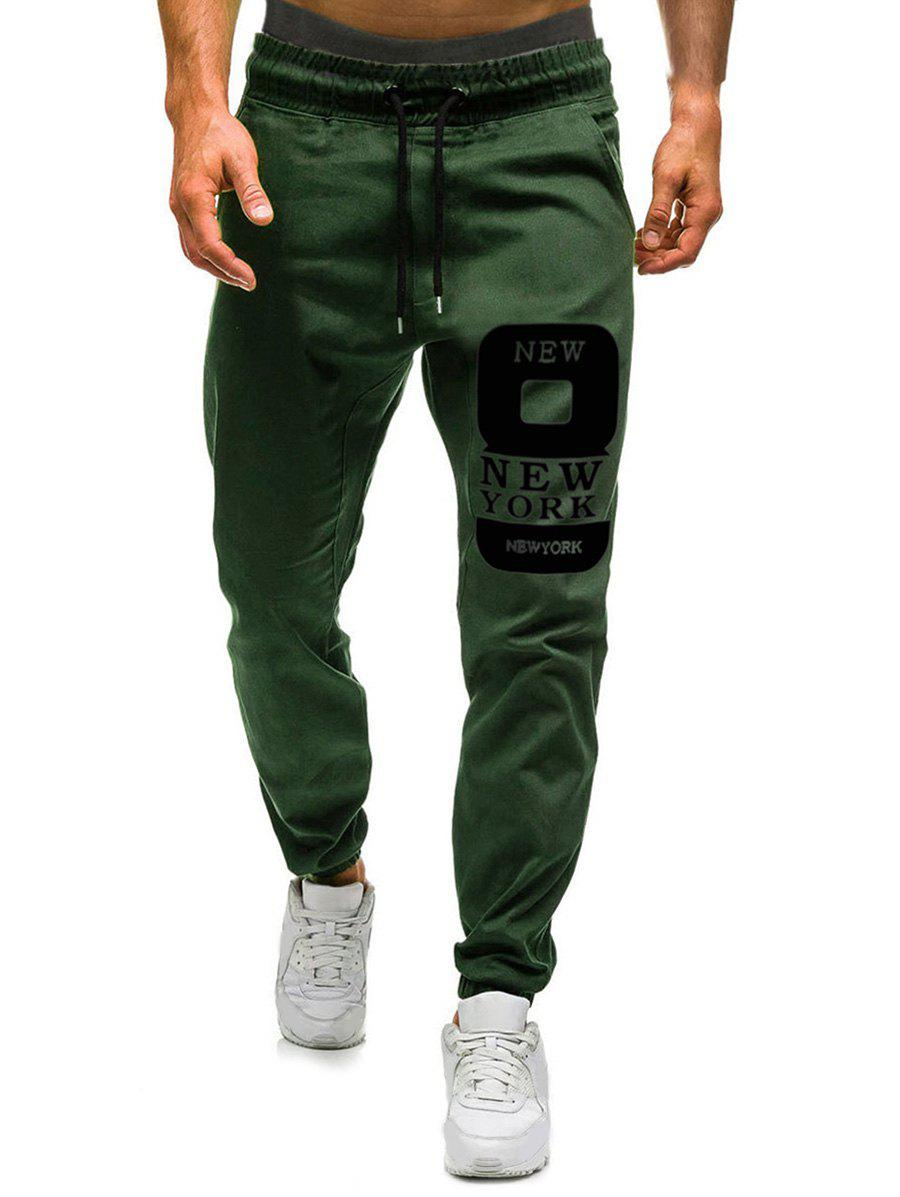 New Number Eight Graphic Casual Jogger Pants