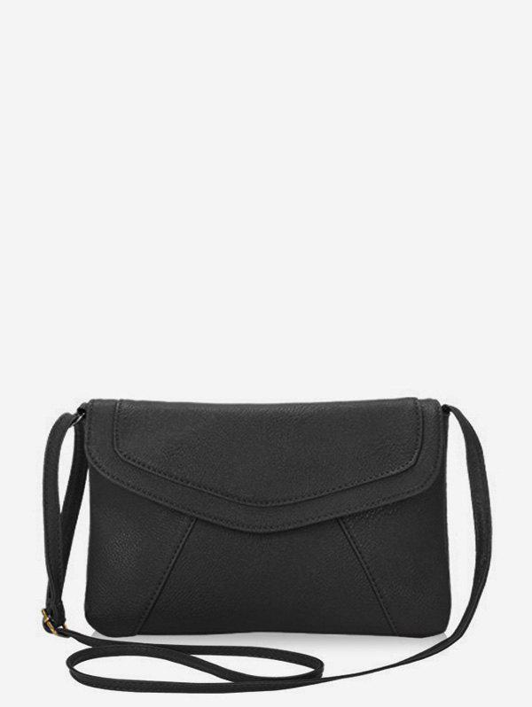 Outfit Brief Style Solid Color Crossbody Bag