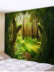 Forest Plant Printed Pattern Tapestry -