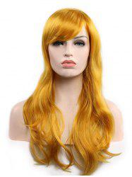 Christmas Long Synthetic Wavy Side Bang Cosplay Wigs -