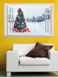 Christmas Theme Window Wall Sticker -