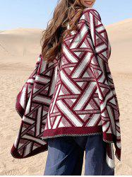 Geometric Pattern Casual Shawl Scarf -