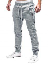Pantalon de Jogging de Sport Zip Design -