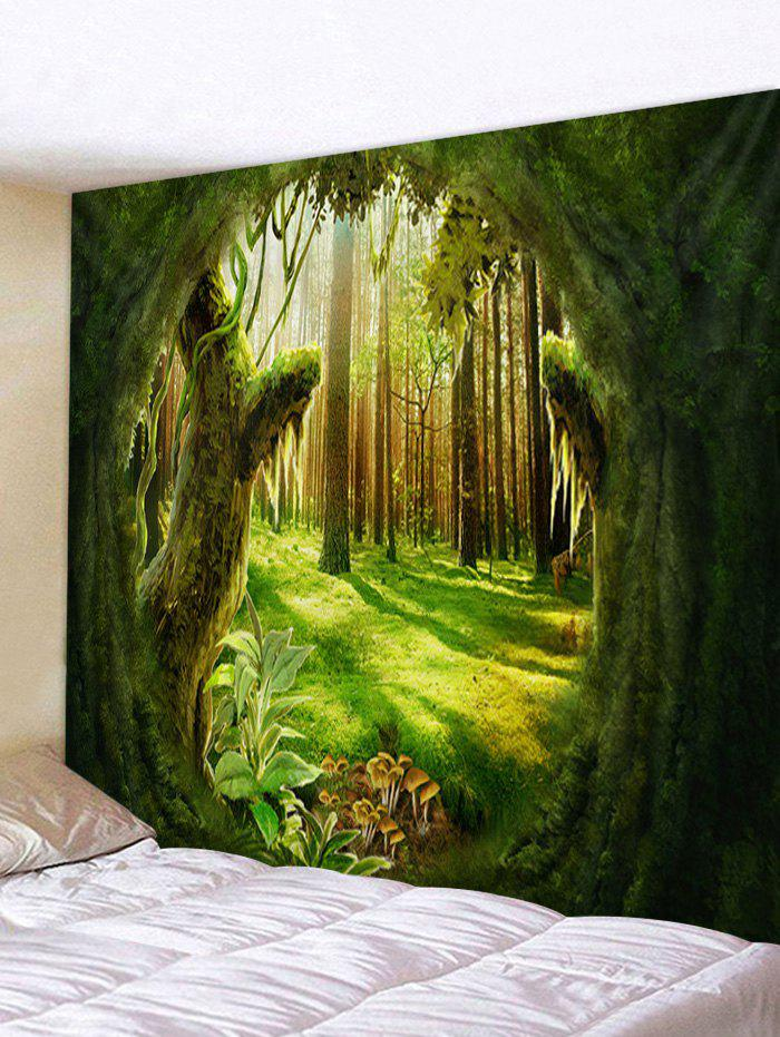 Affordable Forest Plant Printed Pattern Tapestry