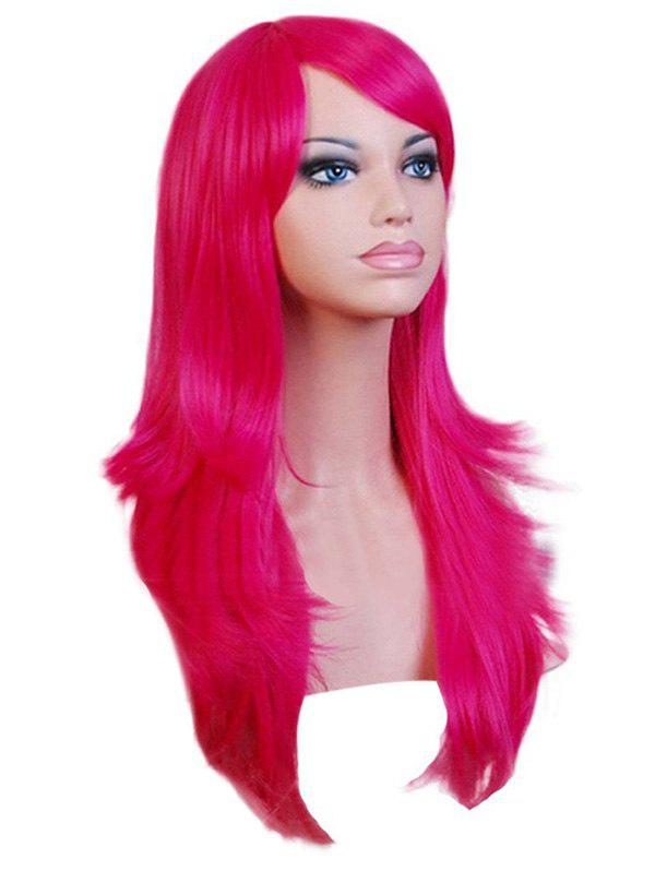 Chic Christmas Long Synthetic Wavy Side Bang Cosplay Wigs