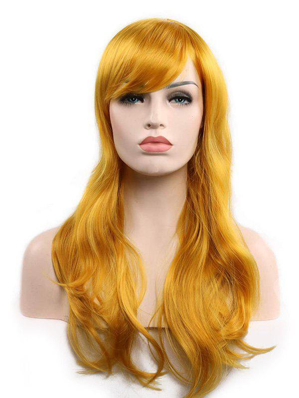 Store Christmas Long Synthetic Wavy Side Bang Cosplay Wigs