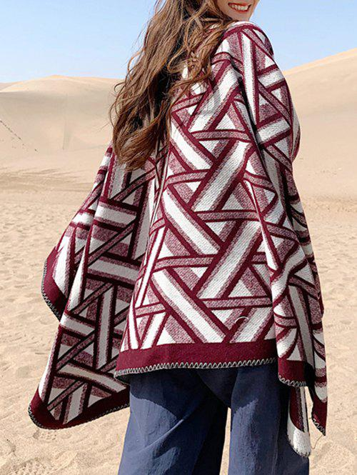 Hot Geometric Pattern Casual Shawl Scarf