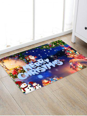 Christmas Pattern Decorative Antiskid Area Rug - MULTI-A - W20 X L31.5 INCH