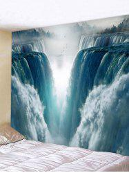 3D Waterfall Pattern Tapestry -