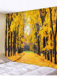 Maple Tree Pattern Tapestry -
