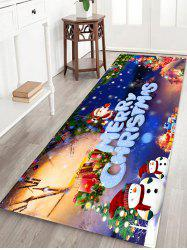 Christmas Pattern Decorative Antiskid Area Rug -