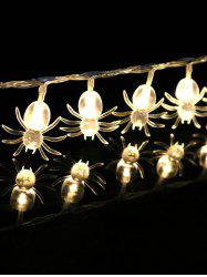 3 Meters Halloween Party Spider Decorative LED String Lights -