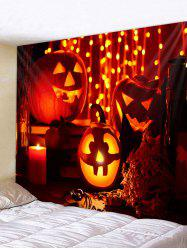 Halloween Pumpkin Pattern Tapestry -