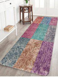 Colorful Square Pattern Non Slip Rug -