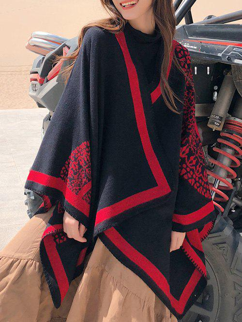 Outfits Bohemian Round Patterned Double Faced Shawl