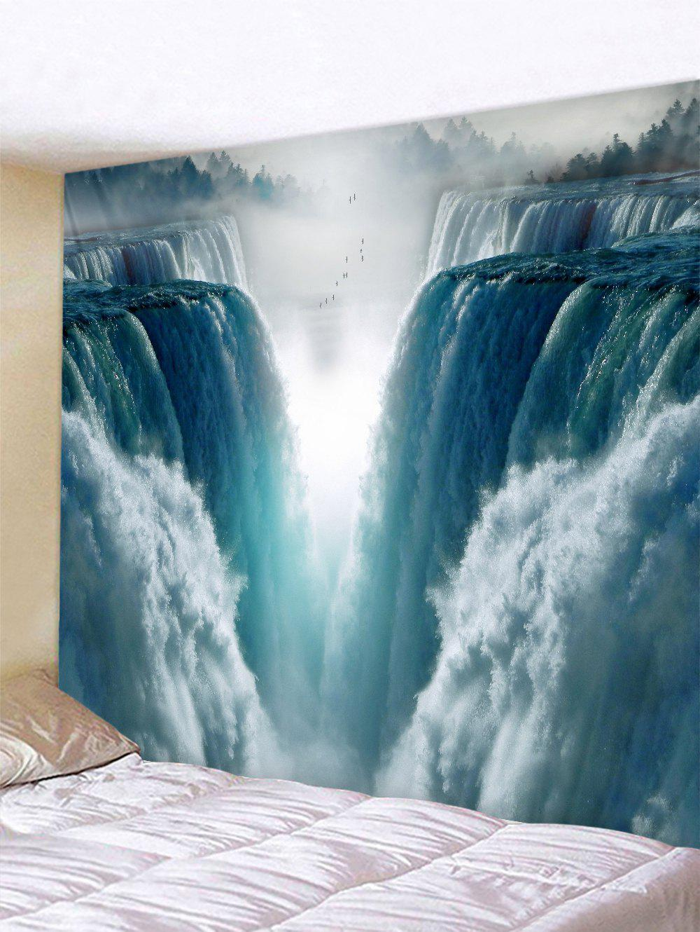Chic 3D Waterfall Pattern Tapestry