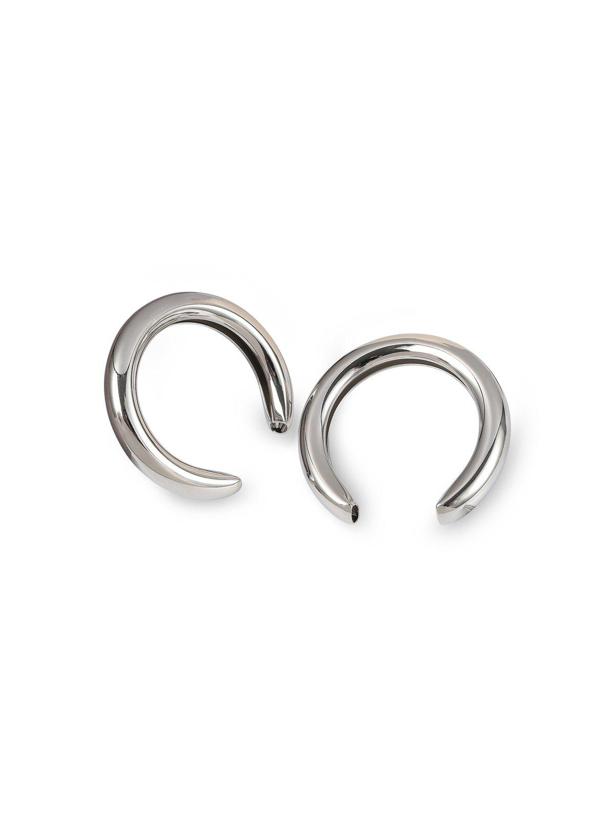 Online Exaggerated Crescent Moon Stud Earrings