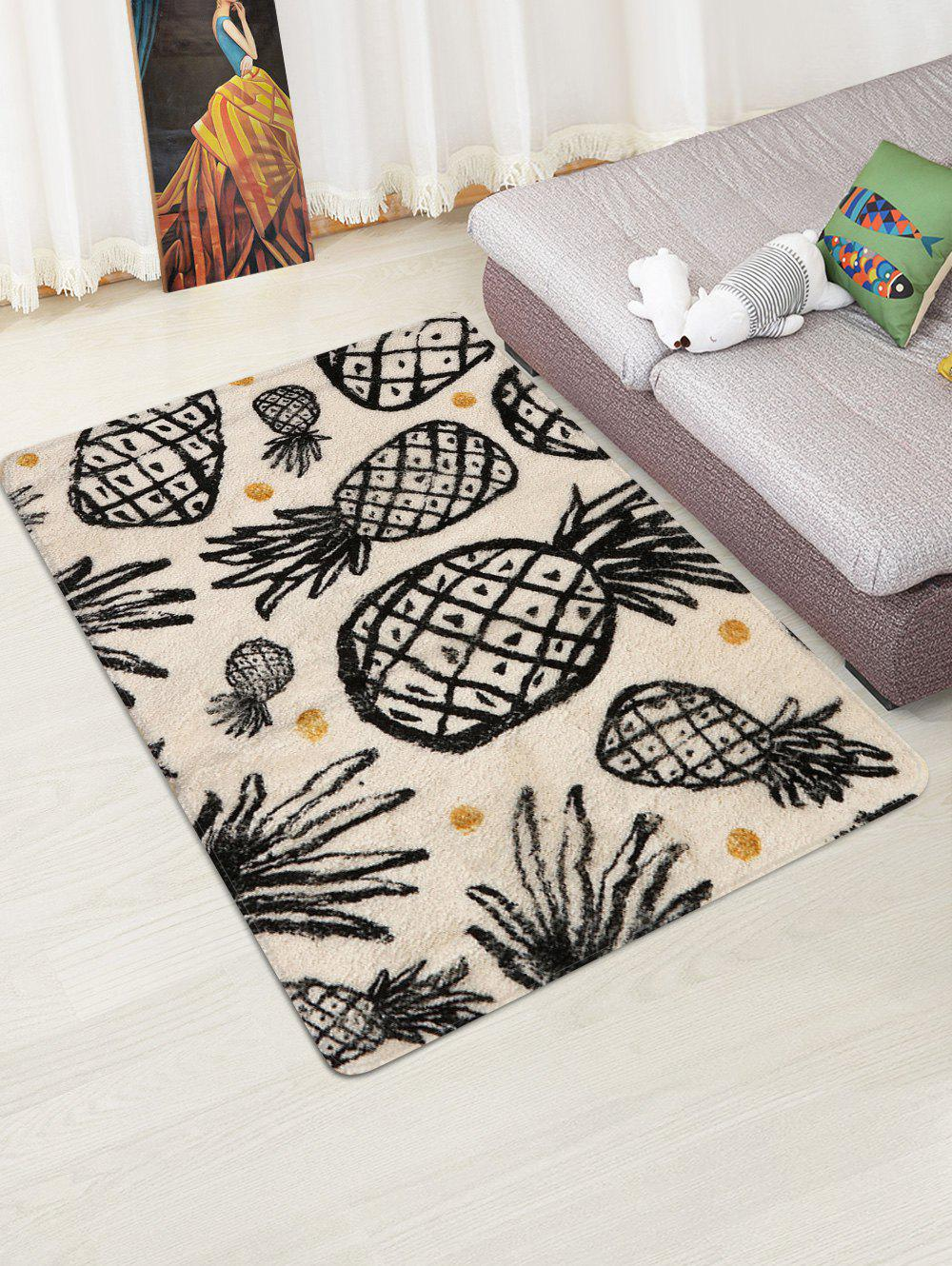Latest Pineapple Print Non Slip Rug