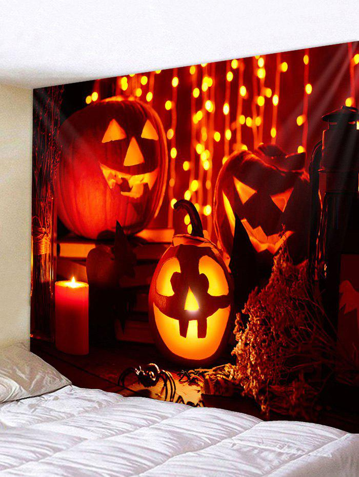 Fashion Halloween Pumpkin Pattern Tapestry