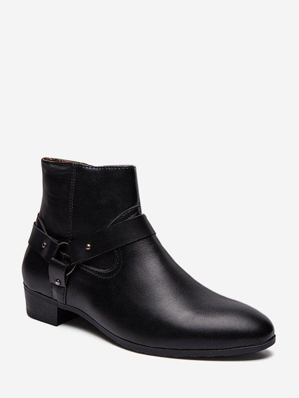 Shop Pointed Toe Side Zip Boots