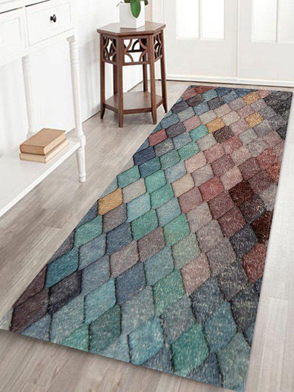 Shop Colorful Rhombic Print Rug